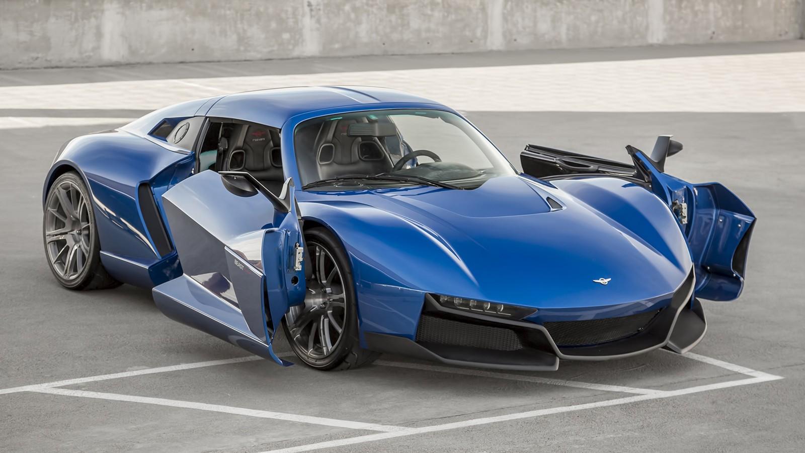 На фото: Rezvani Beast Alpha. Автомобиль получил оригинальный механизм открытия дверей
