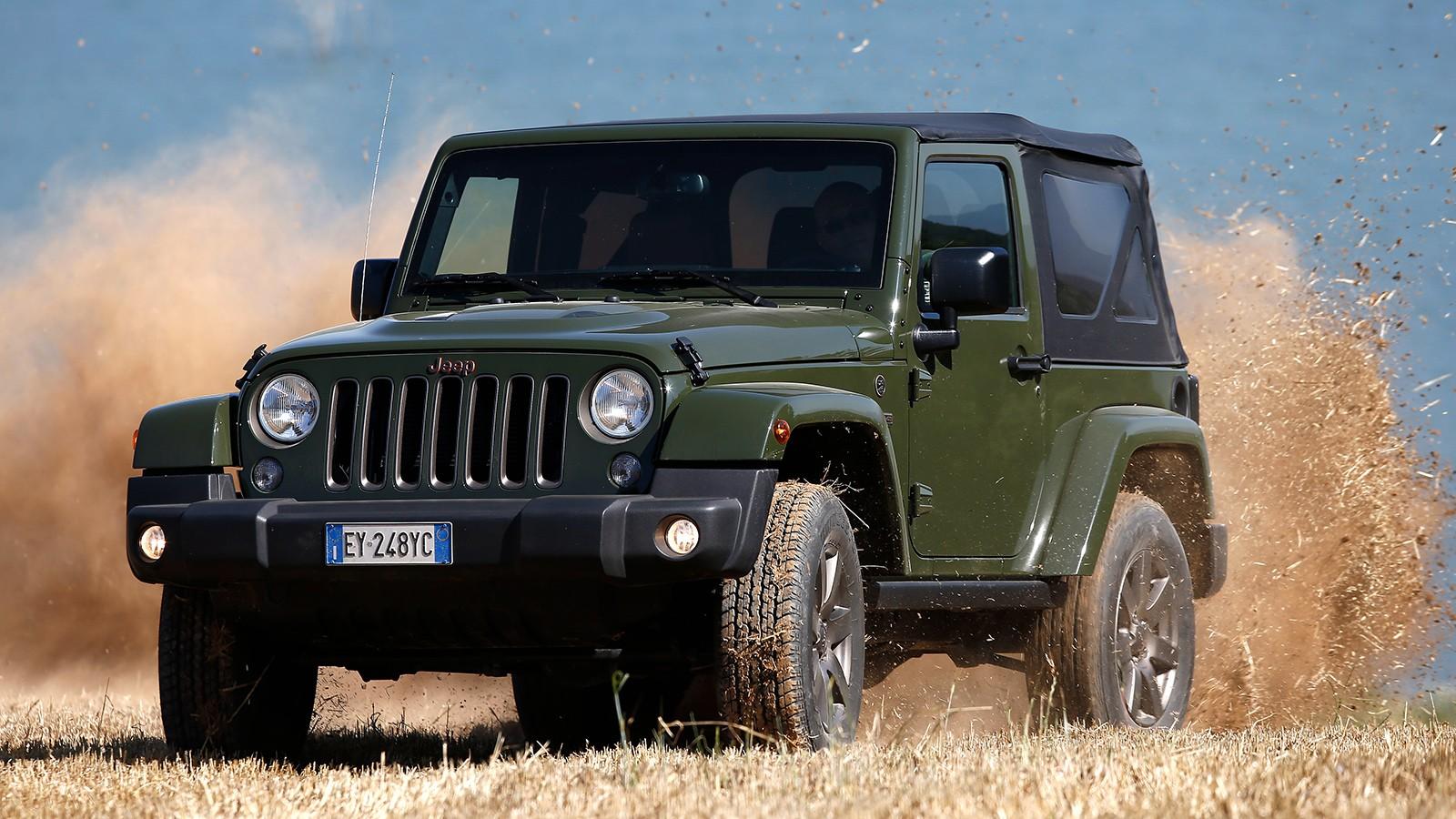 На фото: актуальная версия Jeep Wrangler