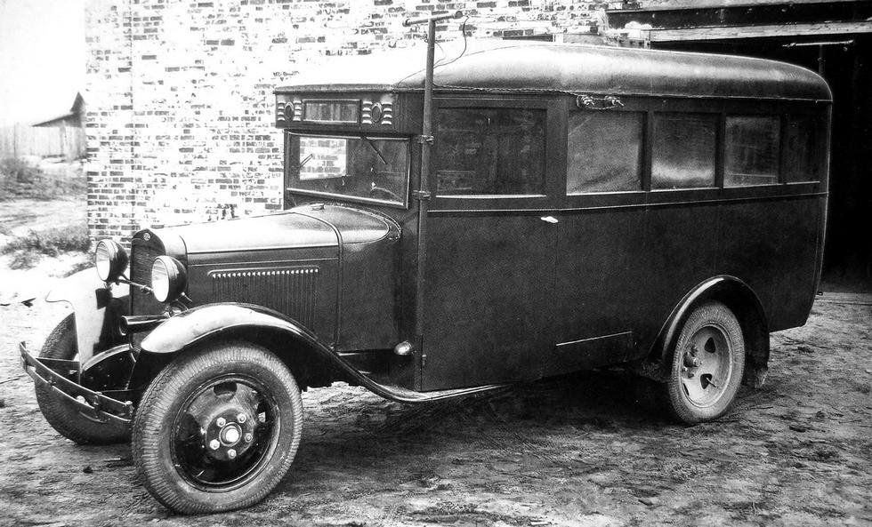 Штабной вариант автобуса ГАЗ-03-30