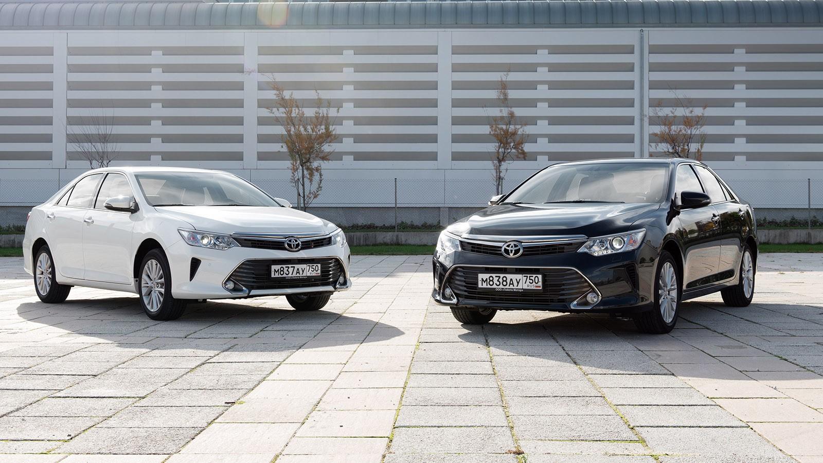 На фото: бестселлер японской марки Toyota Camry