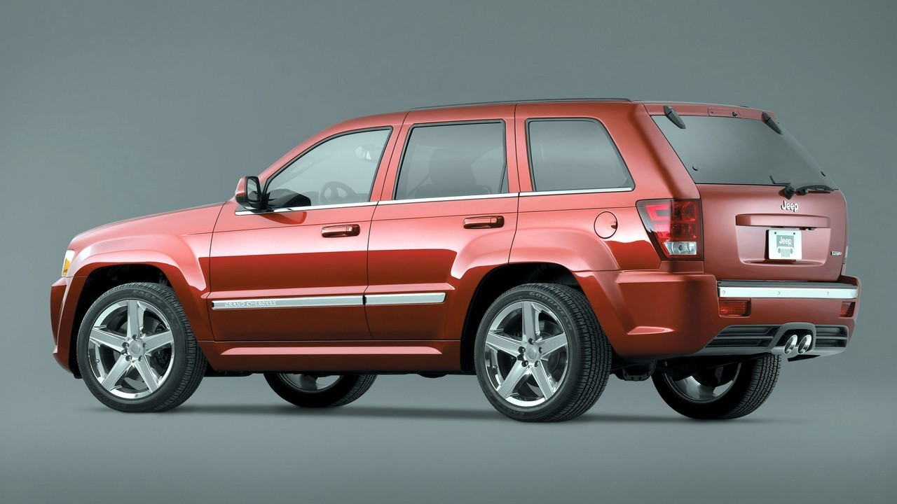 5 Jeep Grand Cherokee SRT8 (WK) 2006–07