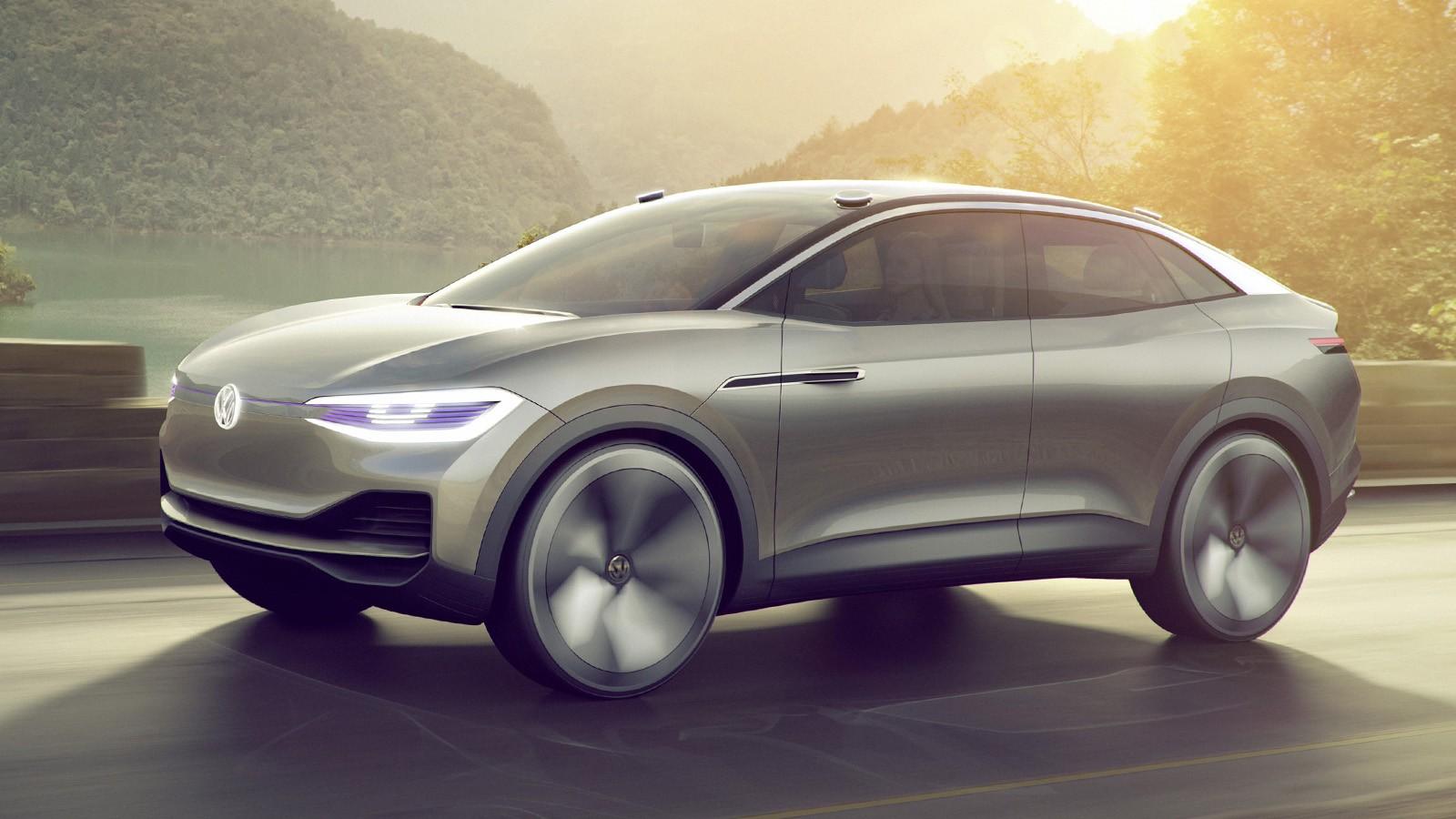 На фото: VW I.D. Crozz Concept