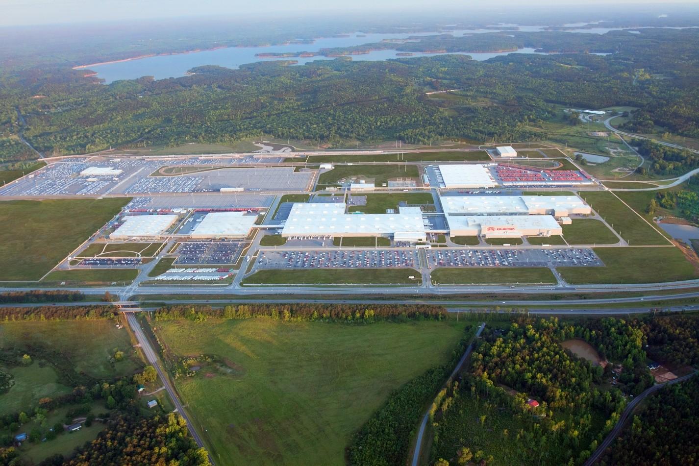 Производство Kia в Джорджии, США