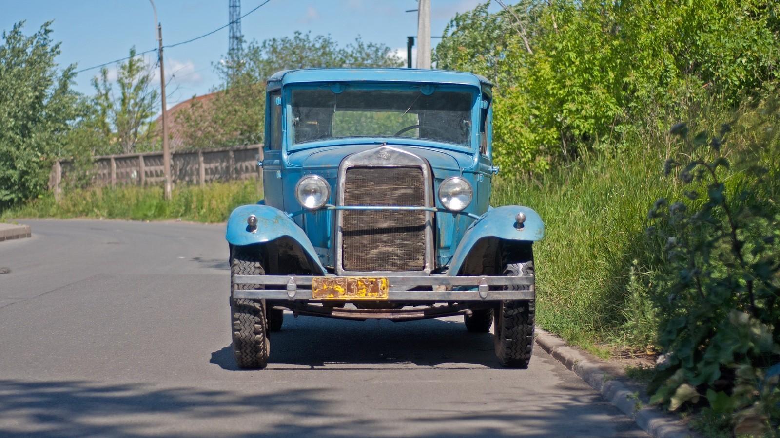 ГАЗ-6 спереди