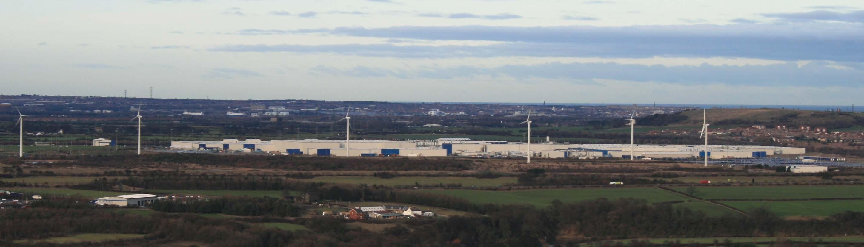 Завод Nissan в Сазерленде
