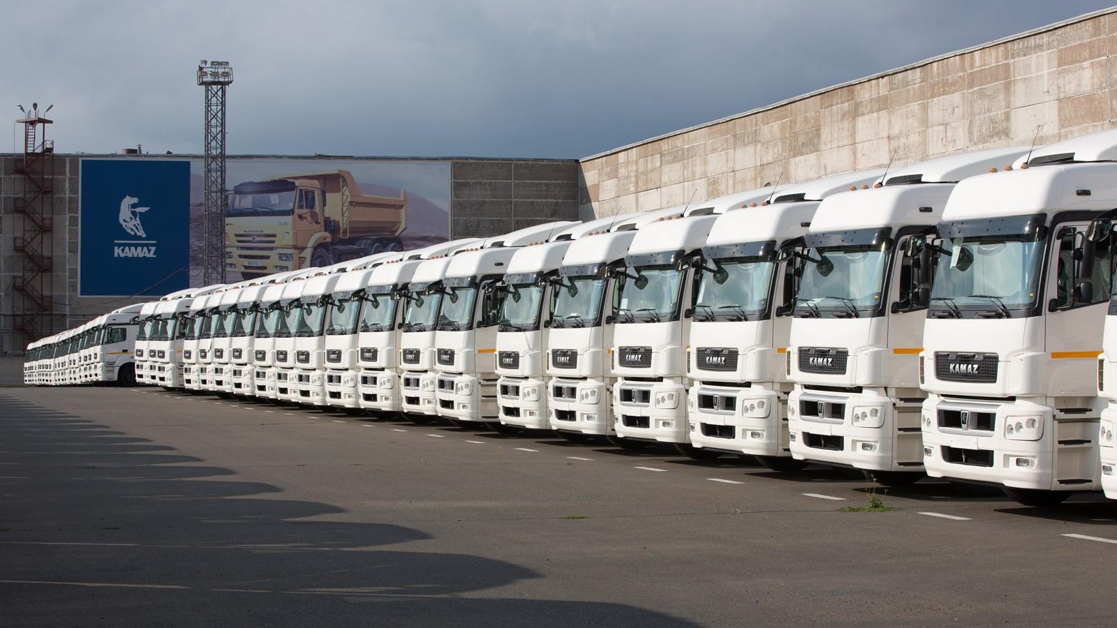 The OAO Kamaz automobile plant, Naberezhnye Chelny, Russia, August 11, 2014.