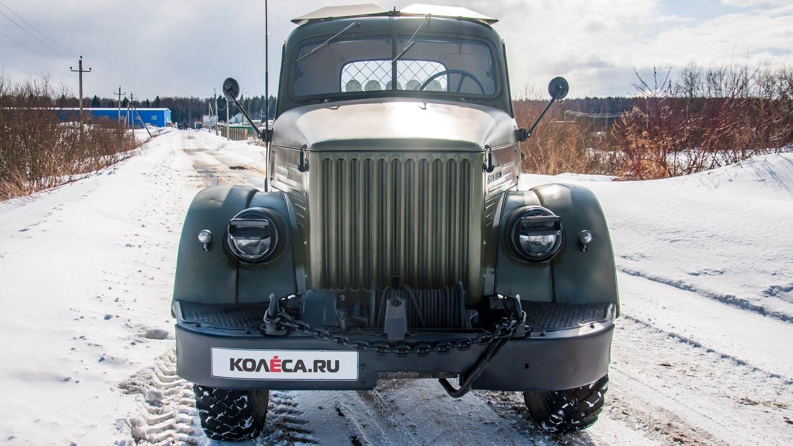 ГАЗ 63 вид спереди