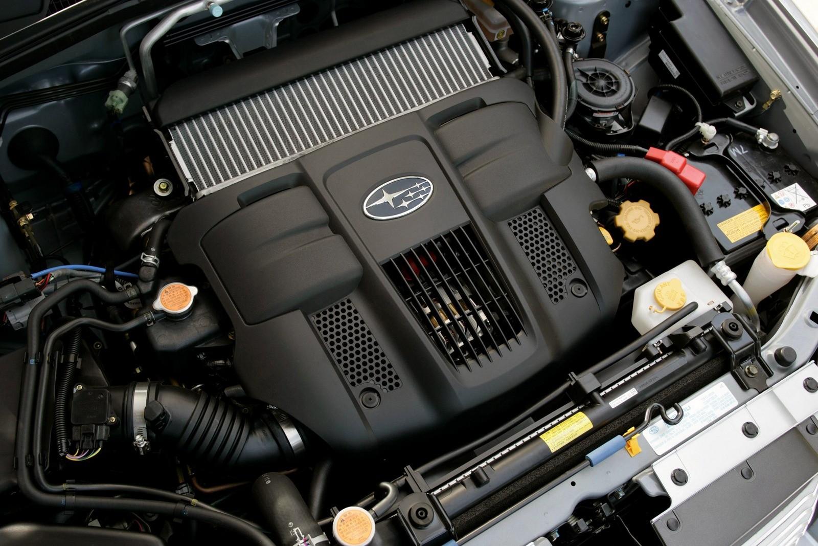 Под капотом Subaru Forester 2.5XT (SG) '2005–08