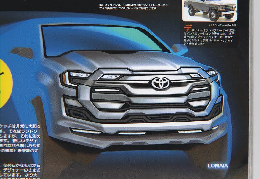 Toyota готовит Land Cruiser следующего поколения: новые изображения