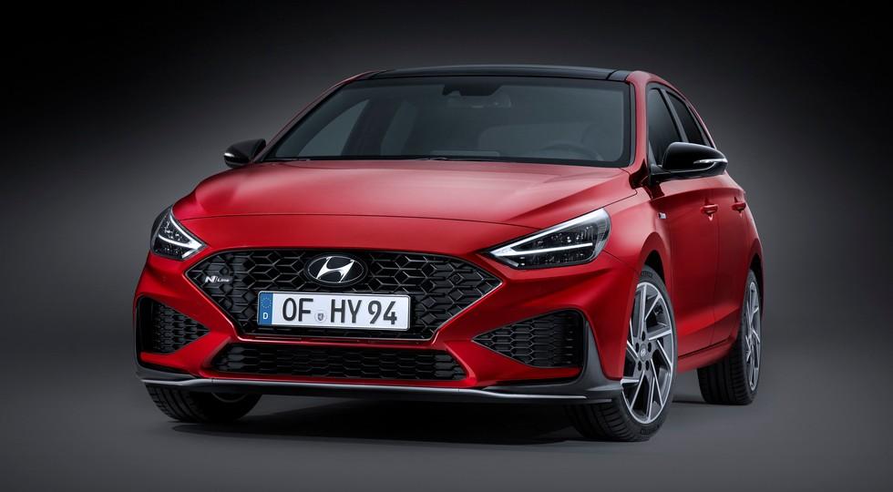 Семейство Hyundai i30 после рестайлинга обрело новые моторы