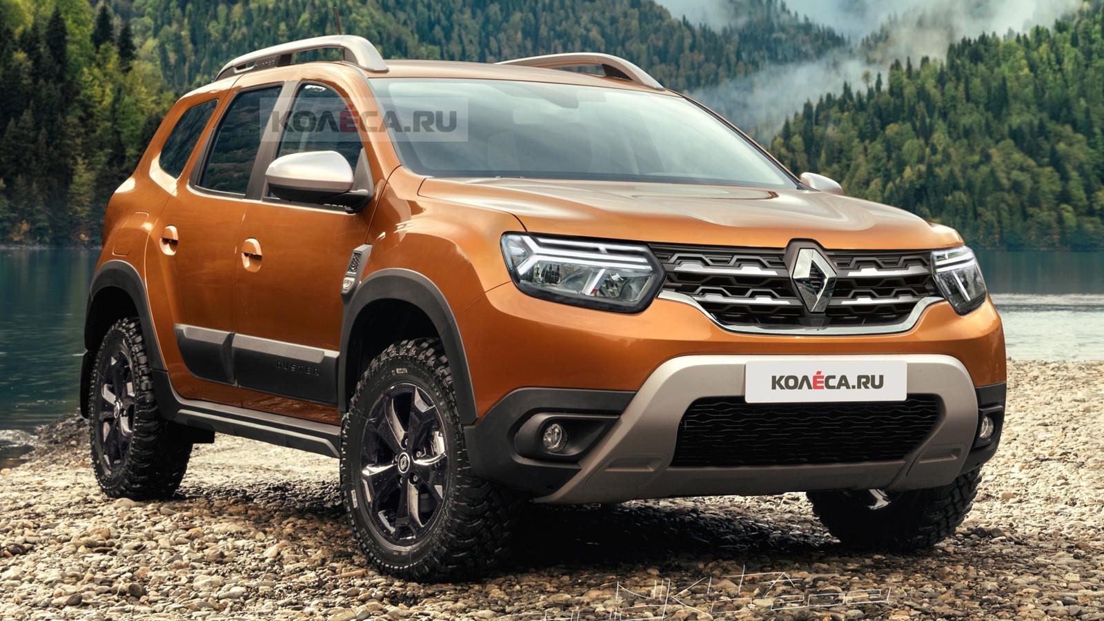 Обновлённый Renault Duster: первые изображения
