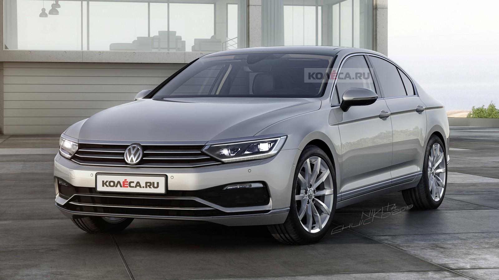 Volkswagen Passat front1