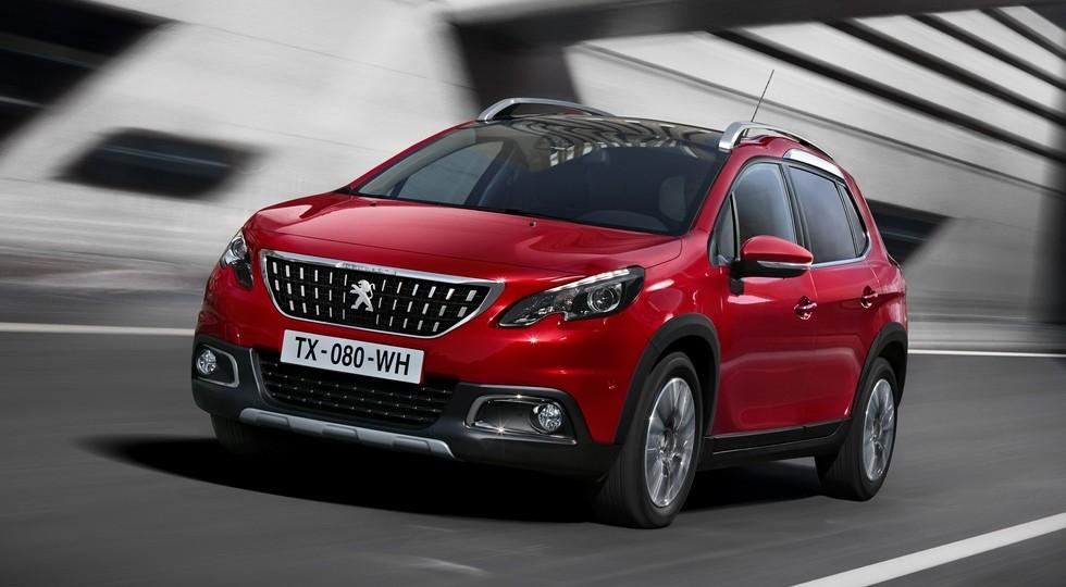 На фото: Peugeot 2008 — самый доступный кроссовер Peugeot на данный момент