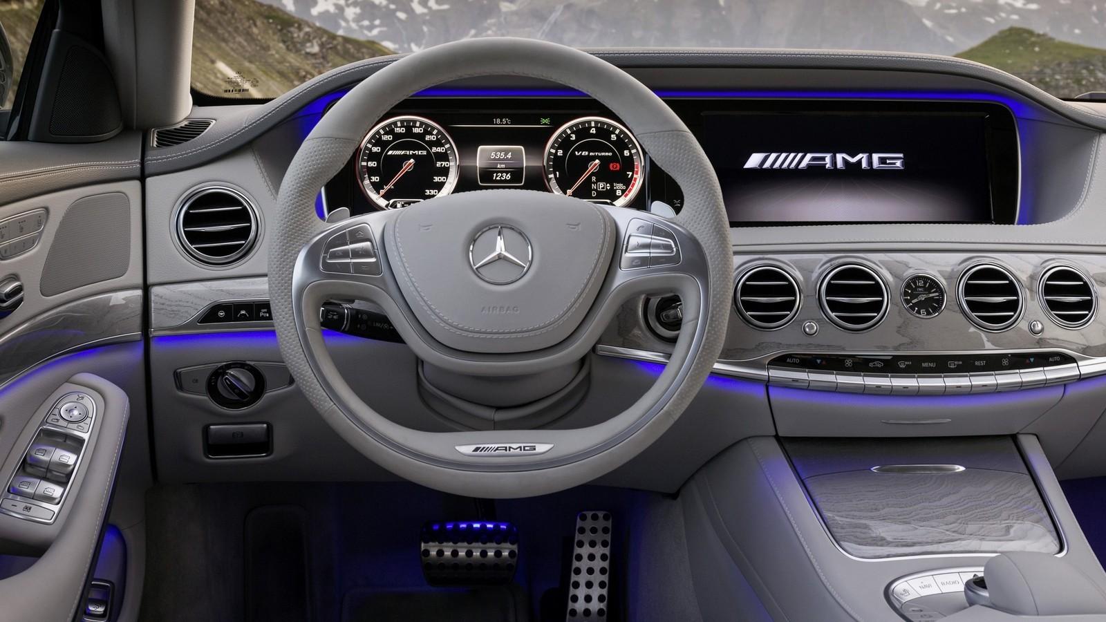 Mercedes-Benz S 63 AMG (актуальная версия)