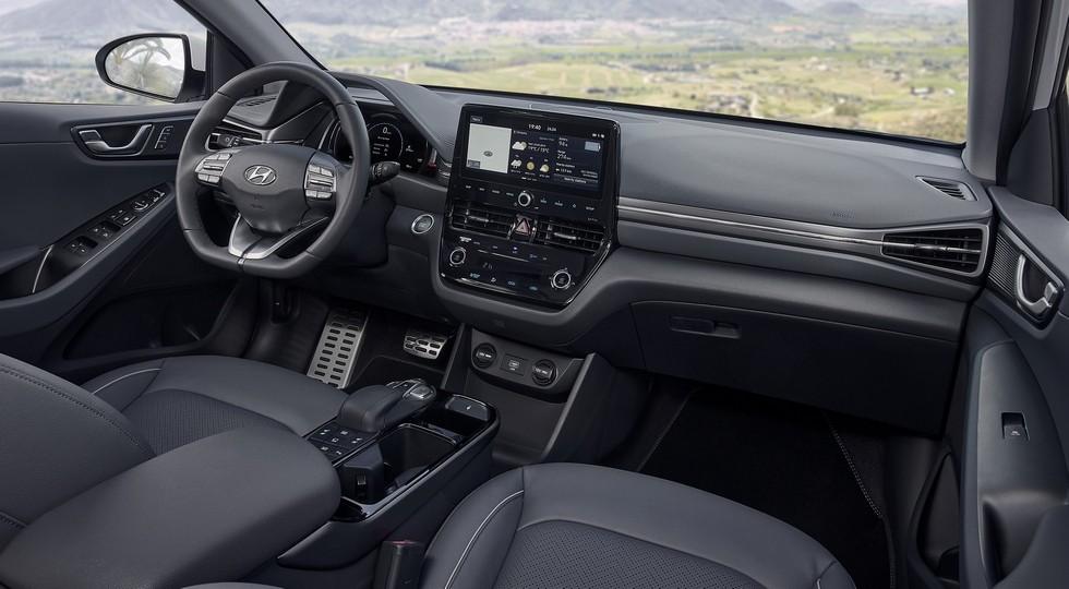 Обновленный Hyundai Ioniq Electric