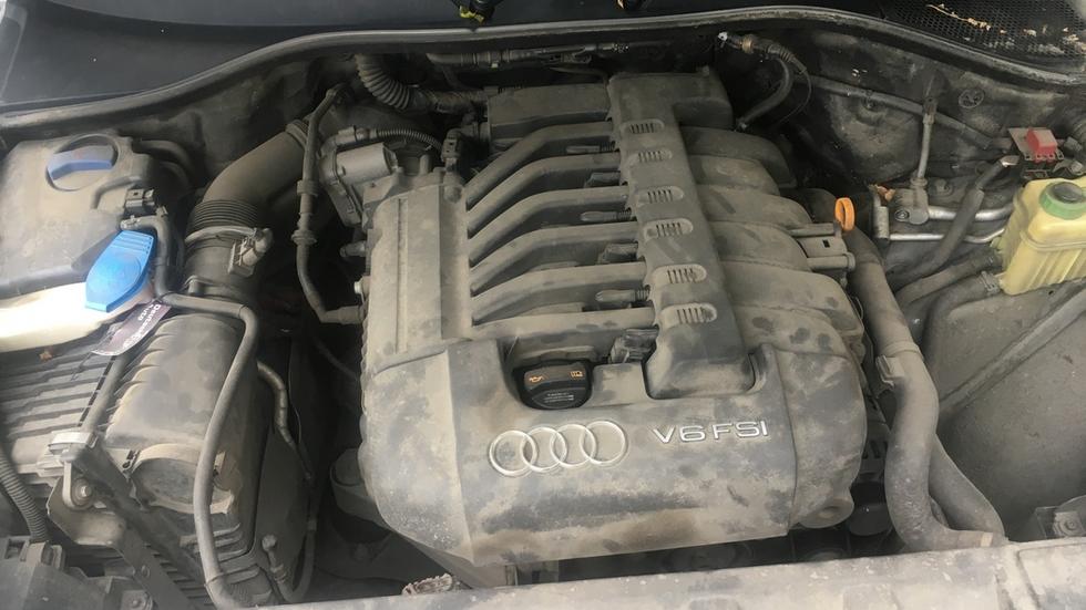Audi Q7 l двигатель