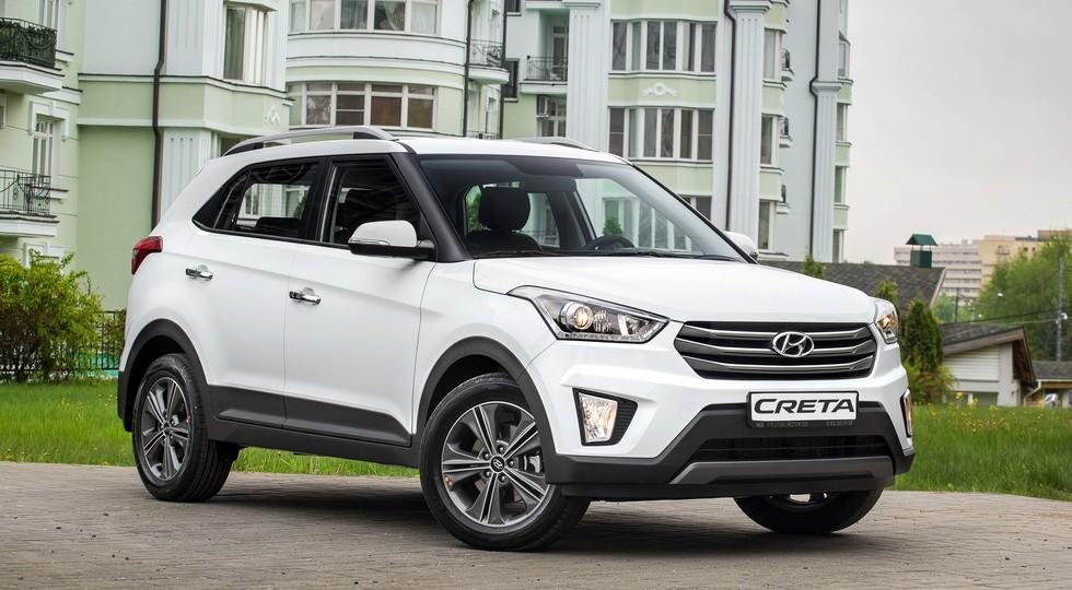На фото: актуальная версия Hyundai Creta для России