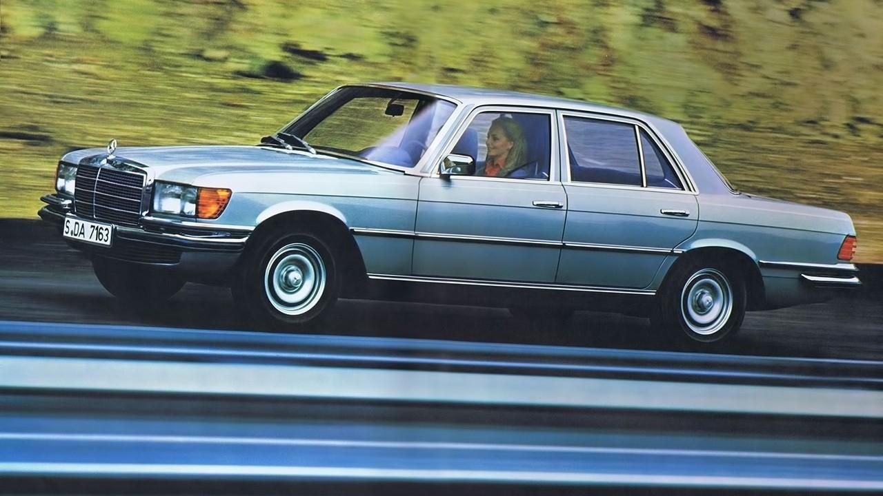 На фото: Mercedes-Benz 280 SE (W116) '1972–80