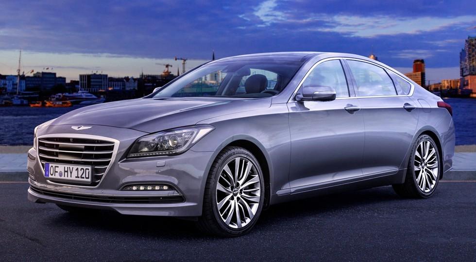 На фото: Hyundai Genesis