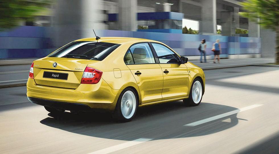 Больше эмоций - SKODA AUTO Россия представляет новые яркие цвета для модели Rapid (1)