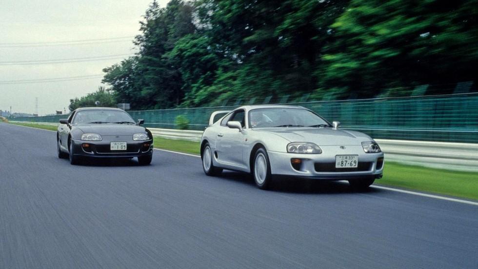 На фото: Toyota Supra (A80) '1993–2002