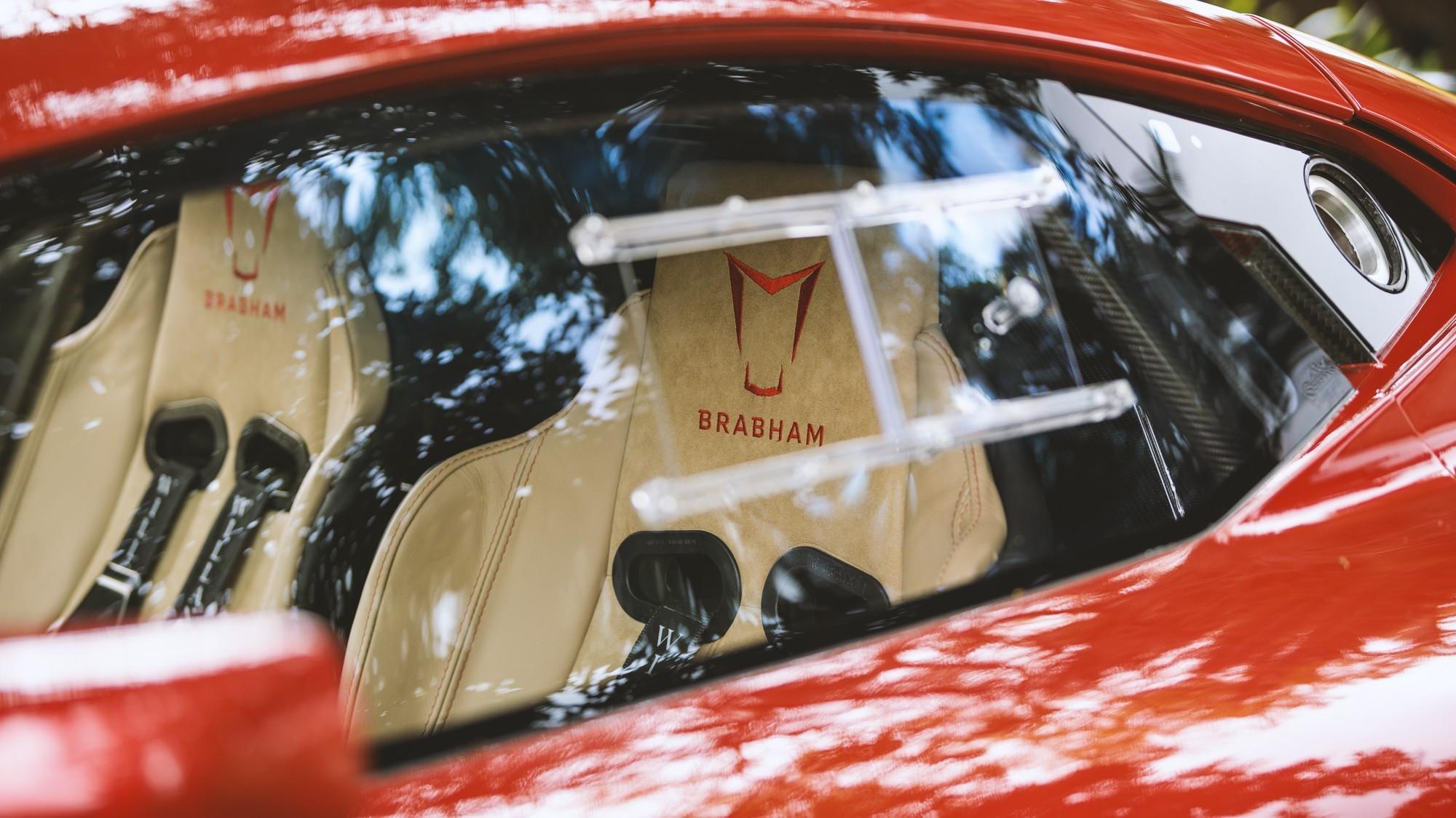 Brabham BT62R: дорожный суперкар с самым мощным атмосферным V8 в мире