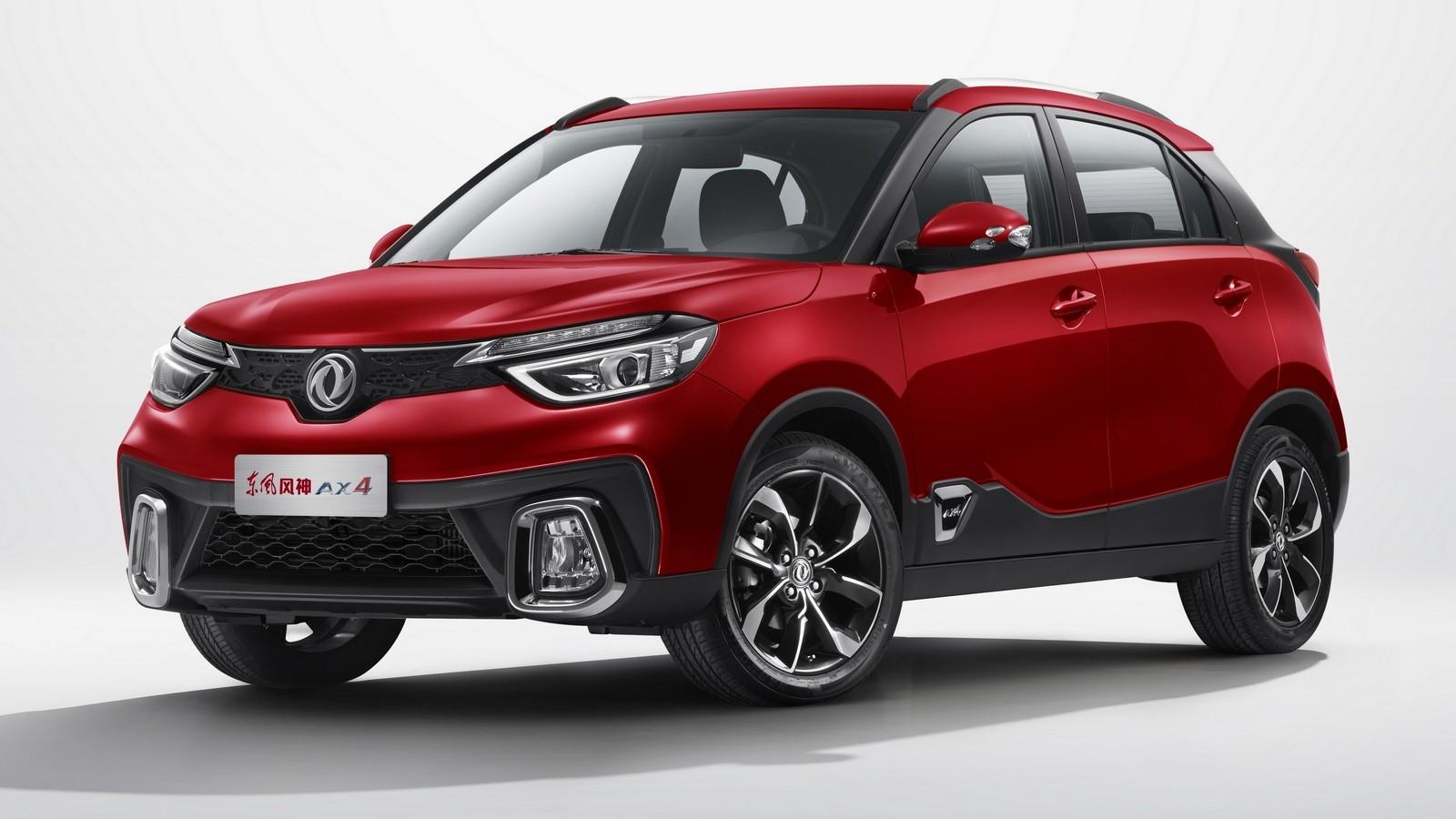Dongfeng Aeolus AX4 '2017–н.в. красный три четверти