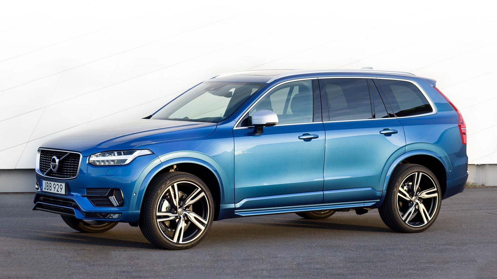 На фото: Volvo XC90 R-Design