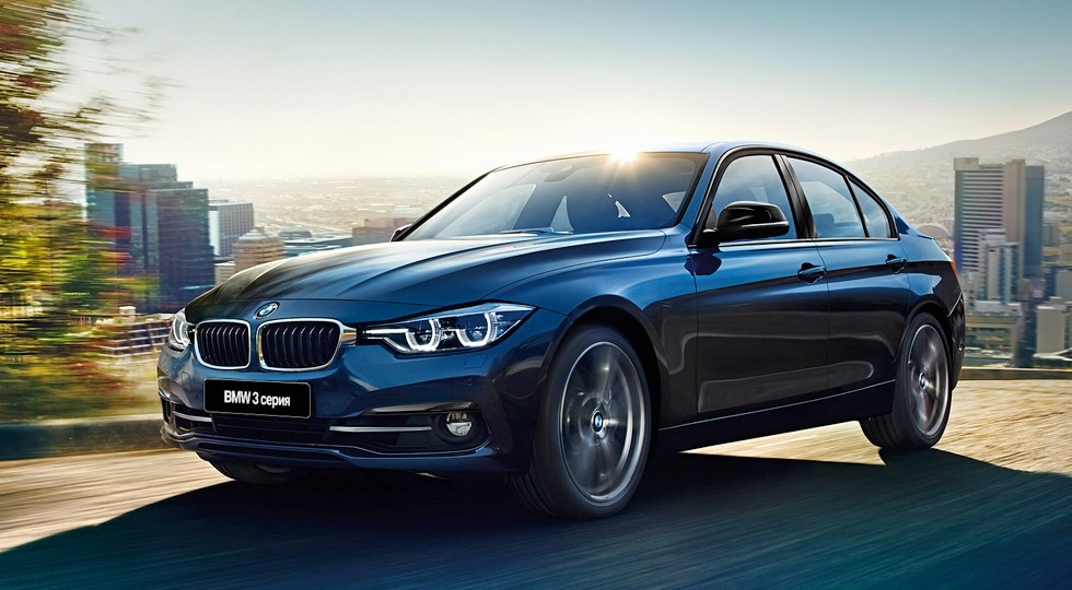 На фото: BMW 3 Series