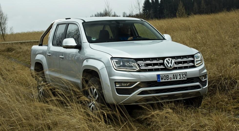 На фото: Volkswagen Amarok