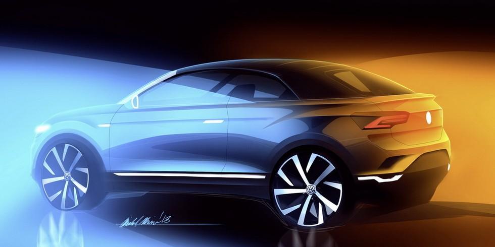 Erstes SUV-Cabriolet der Marke: Volkswagen Aufsichtsrat bestätigt Cabriolet des T-Roc