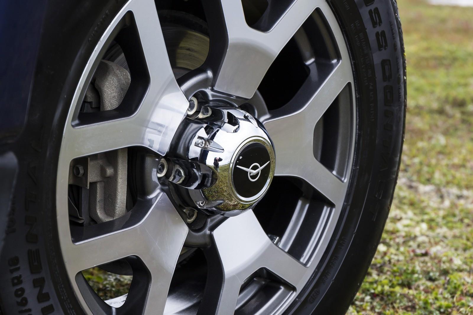 УАЗ Патриот синий колесный диск