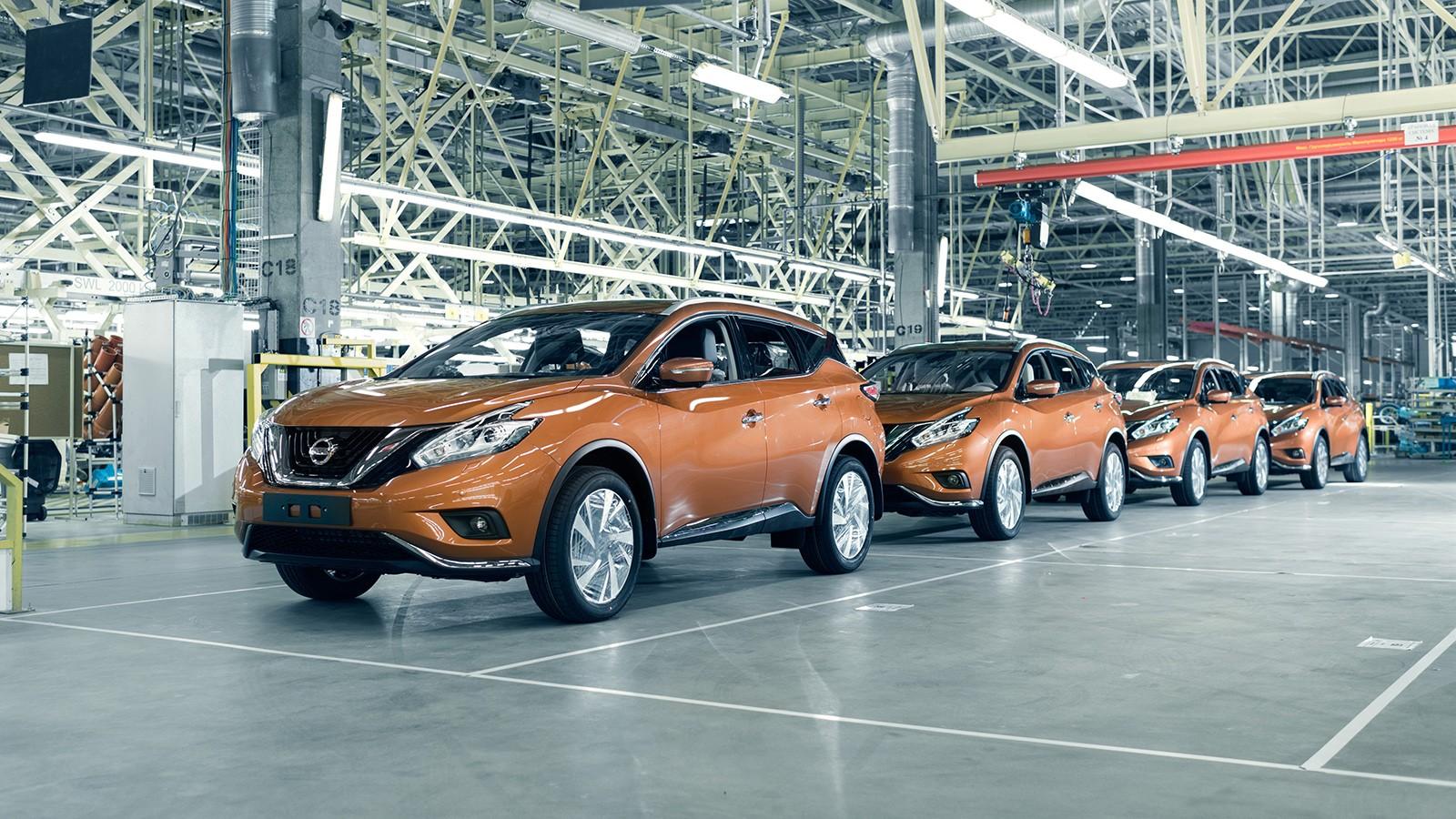 Летом 2016 года в Петербурге приступили к выпуску нового Nissan Murano