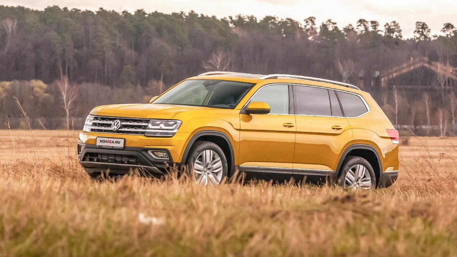Volkswagen Teramont вид три четверти