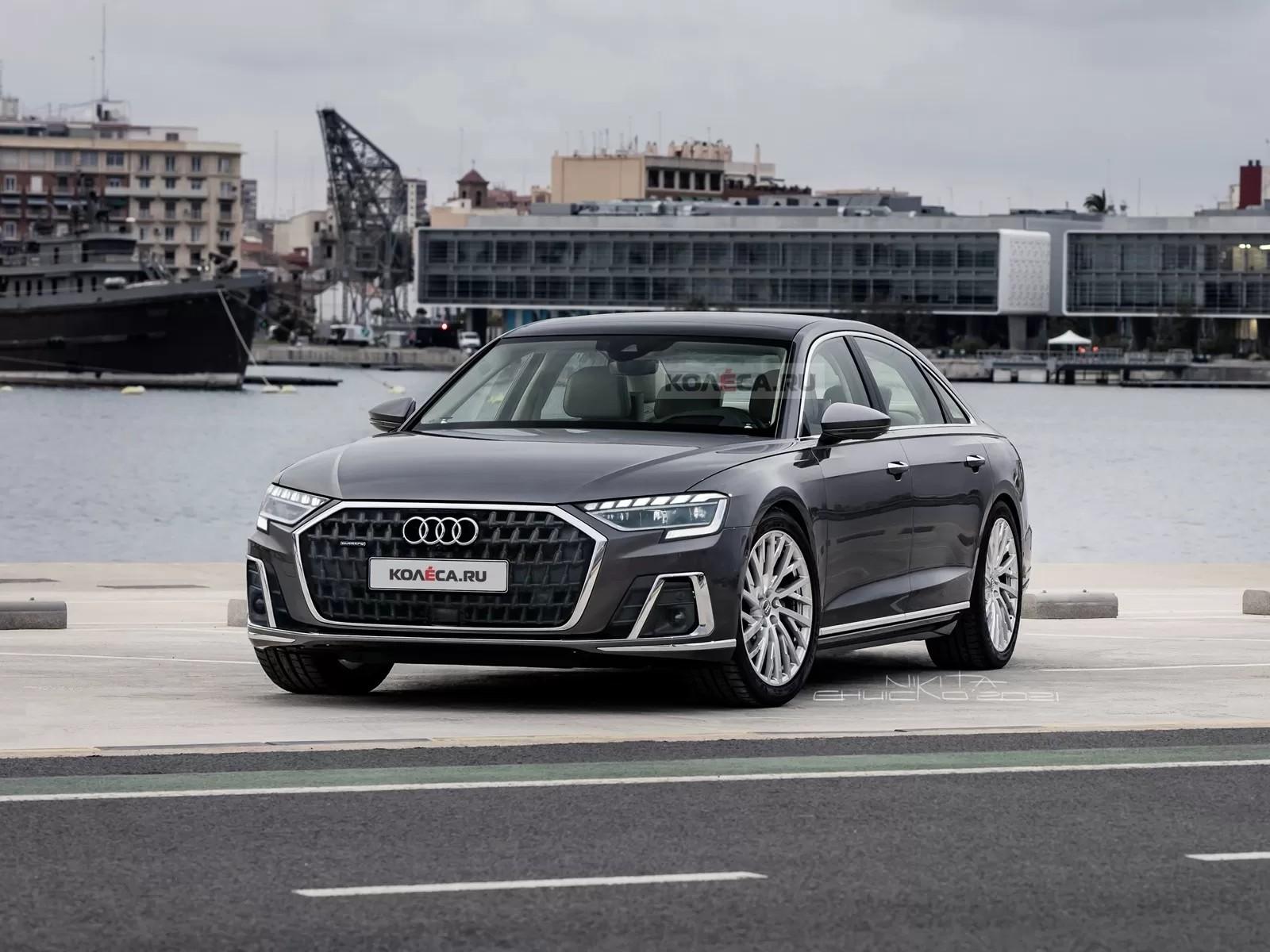 Обновлённый Audi A8 получит версию XL (она же Horch) и поборется с Mercedes-Maybach