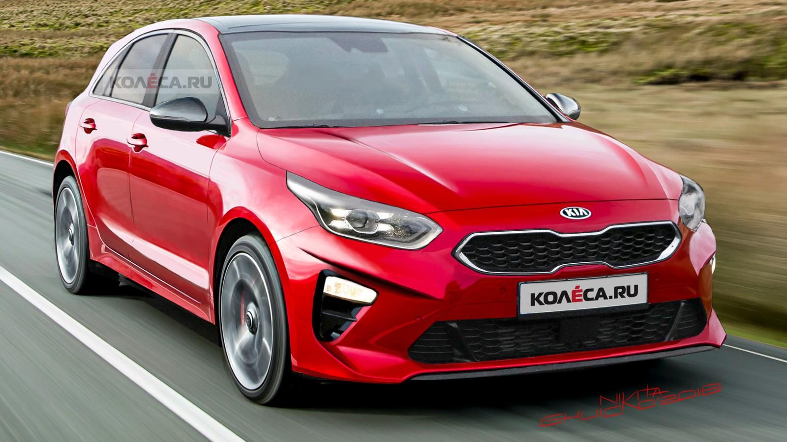 Kia Ceed front2