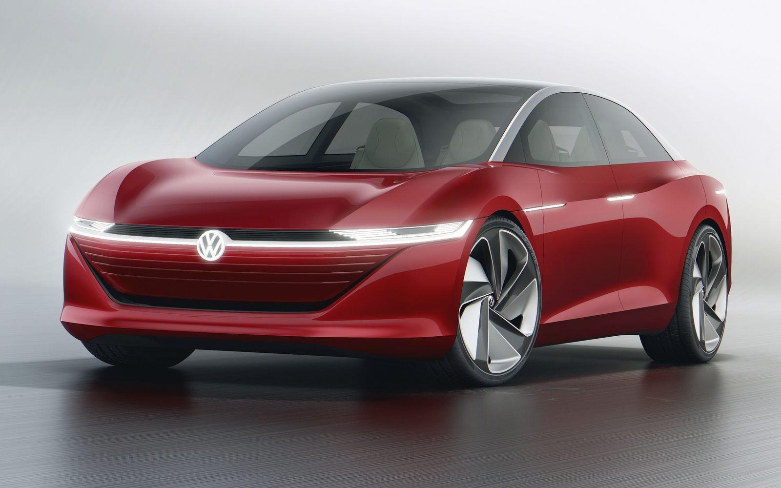 Электрический концептуальный седан Volkswagen I.D. Vizzion, представленный весной этого года в Женеве, превратиться в серийный I.D. Aero, который будет конкурировать с Tesla Model S.