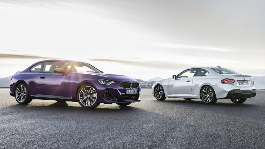 В BMW полностью рассекретили следующее купе 2 series: небольшие «ноздри» и новая оптика