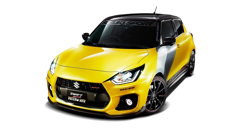 Концепт Suzuki Swift Sport Yellow Rev