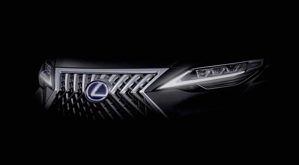 Первый тизер шанхайской премьеры Lexus
