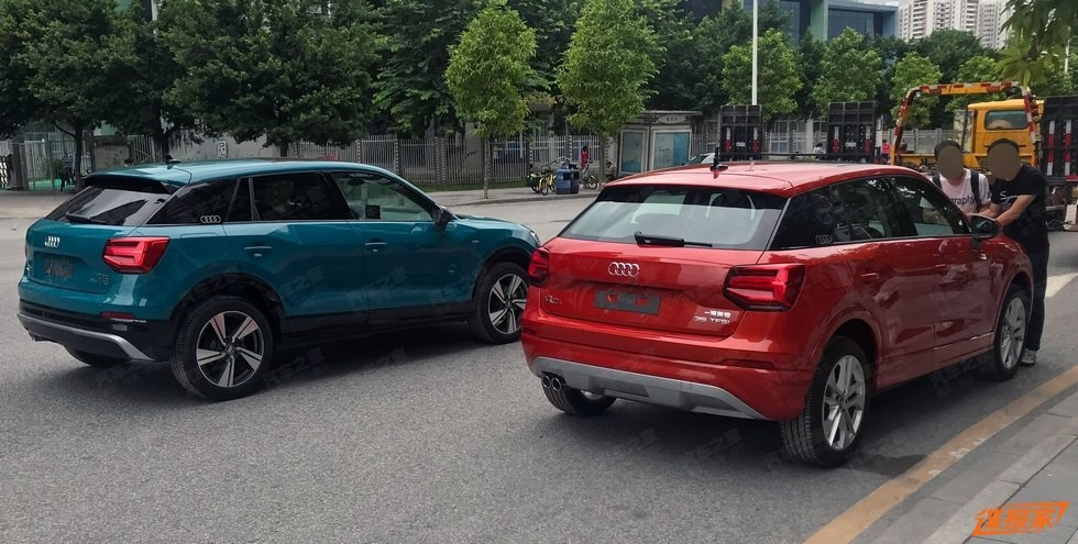На фото: Audi Q2L