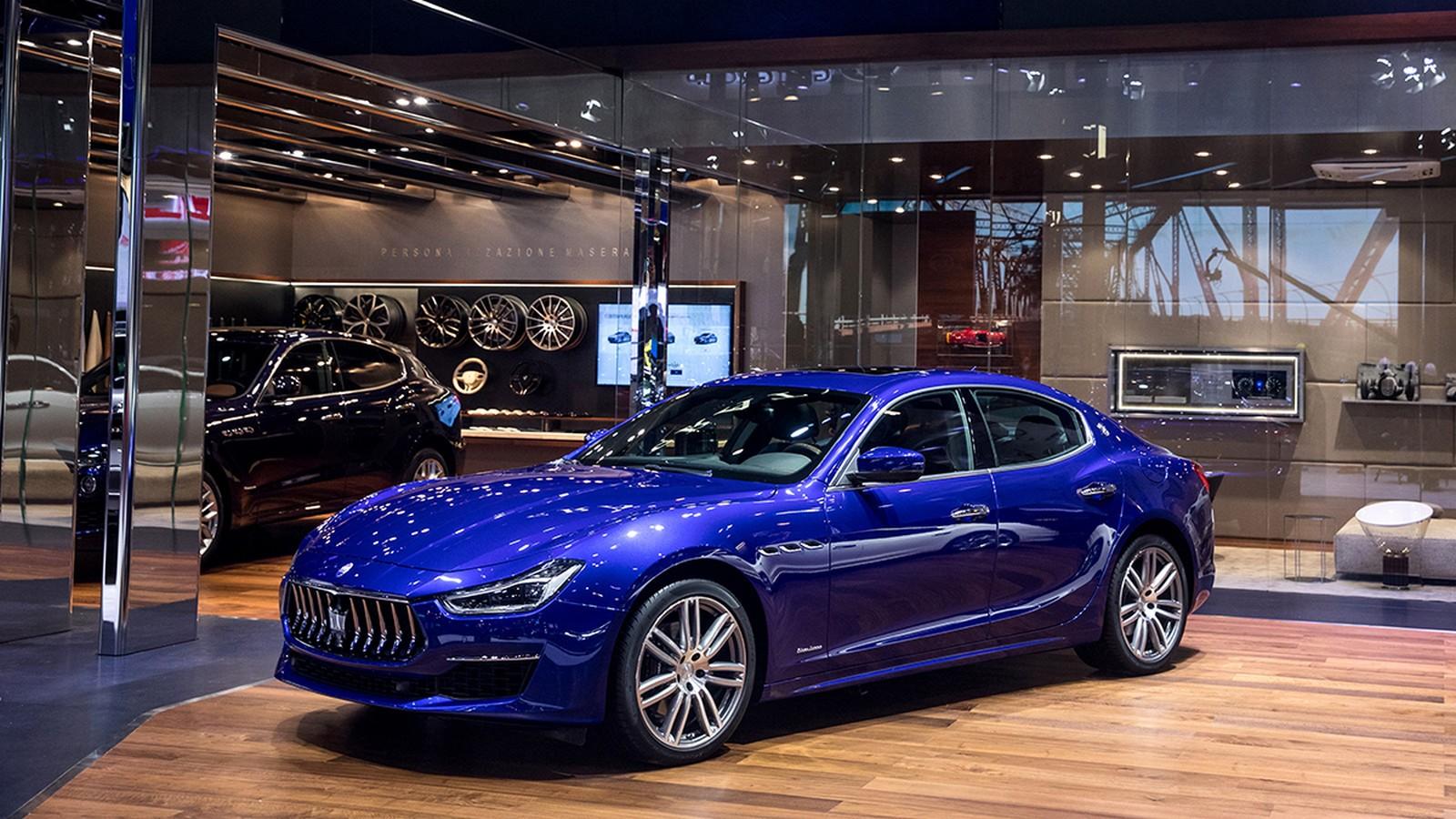 Maserati stand at Auto China 2018_Ghibli GranLusso MY18