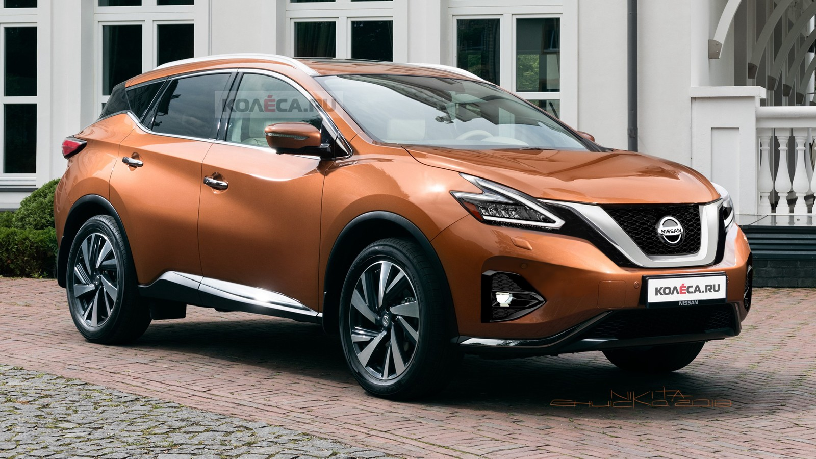 Nissan Murano front1