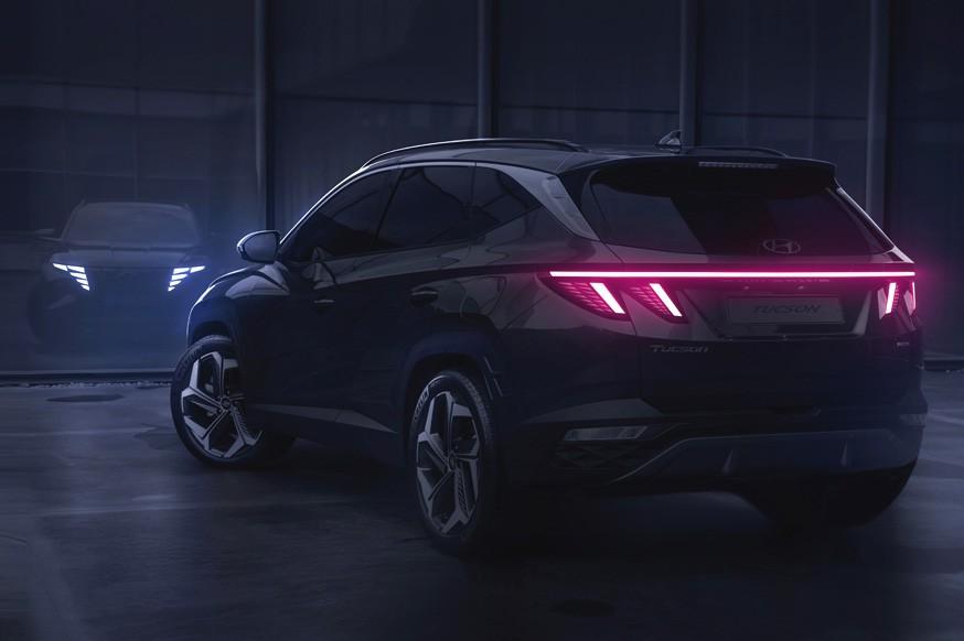 Hyundai Tucson нового поколения показался на официальных фото. Раскрыли и интерьер