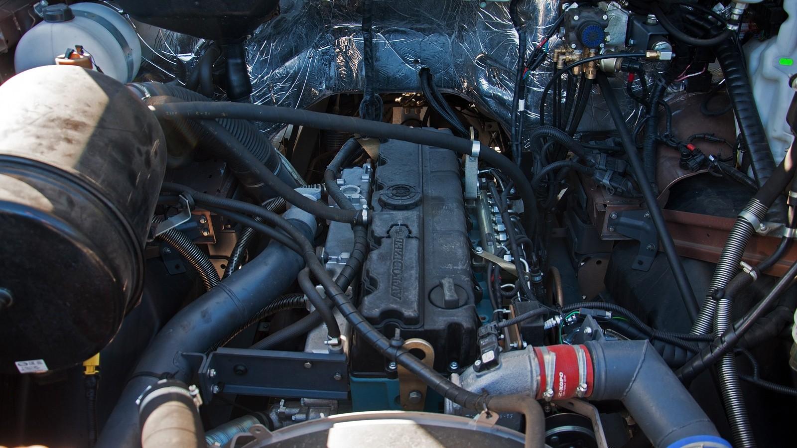 Урал Next 6х4 двигатель
