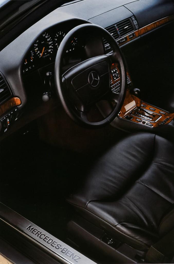 Интерьер Mercedes-Benz 600 SEL Worldwide (Bm.140.057) '1990–1993