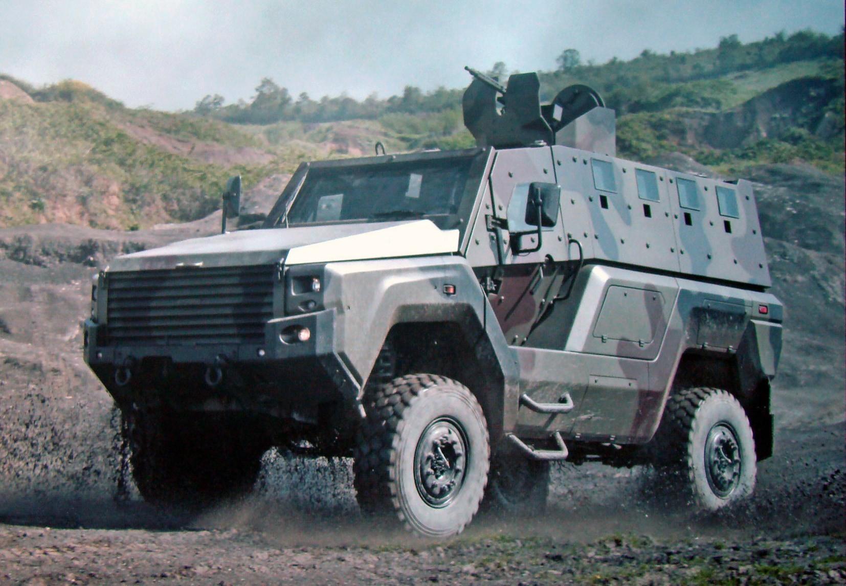 Машины Kaya II с новой бронекапсулой и пулеметным вооружением