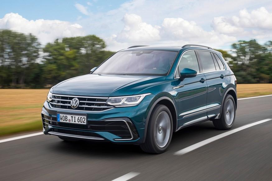 Обновлённый Volkswagen Tiguan для России с прежними бензиновыми моторами пока без дизеля
