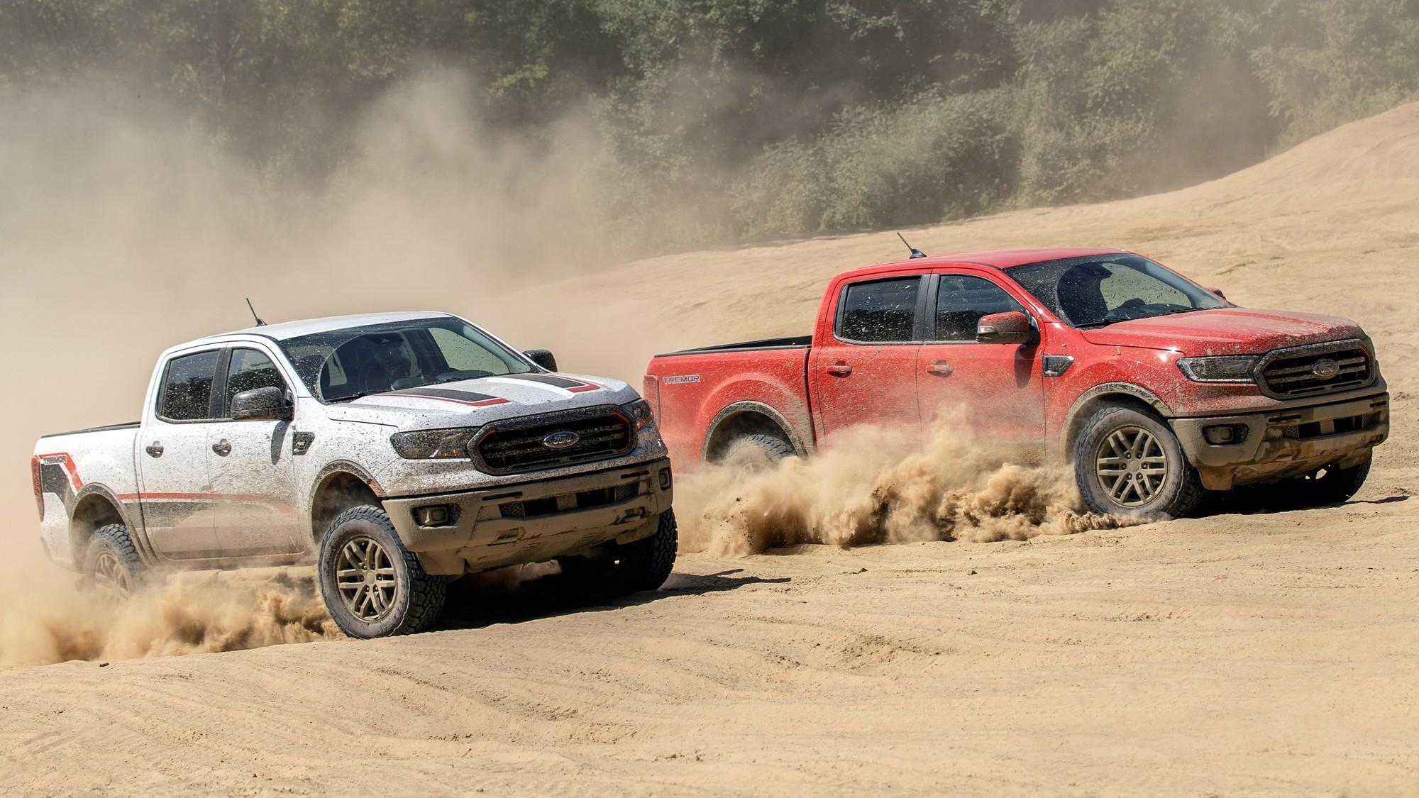 «Дрожь» вместо «хищника»: в США дебютировал оффроудный Ford Ranger Tremor