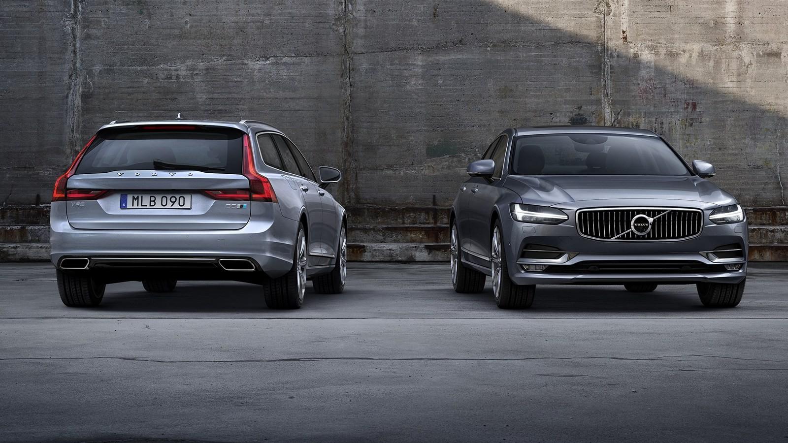 На фото: Volvo V90 '2016–н.в.